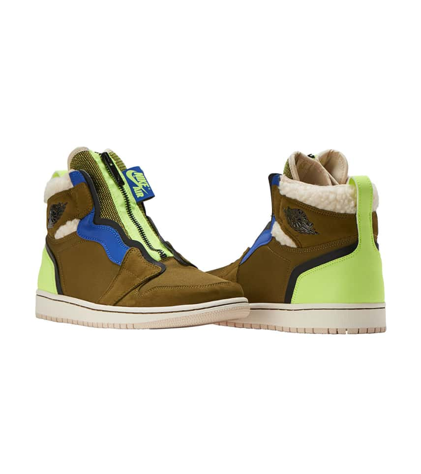 Jordan JORDAN 1 HIGH ZIP PREM (Dark Green) - AV3723-300  6a6ba0e4e