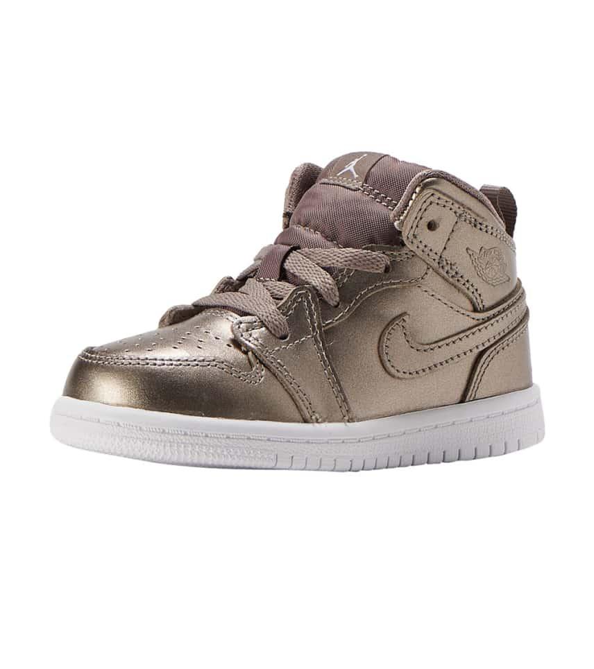 ff90699e6a1e82 Jordan 1 Mid SE Sneaker (Silver) - AV5172-200