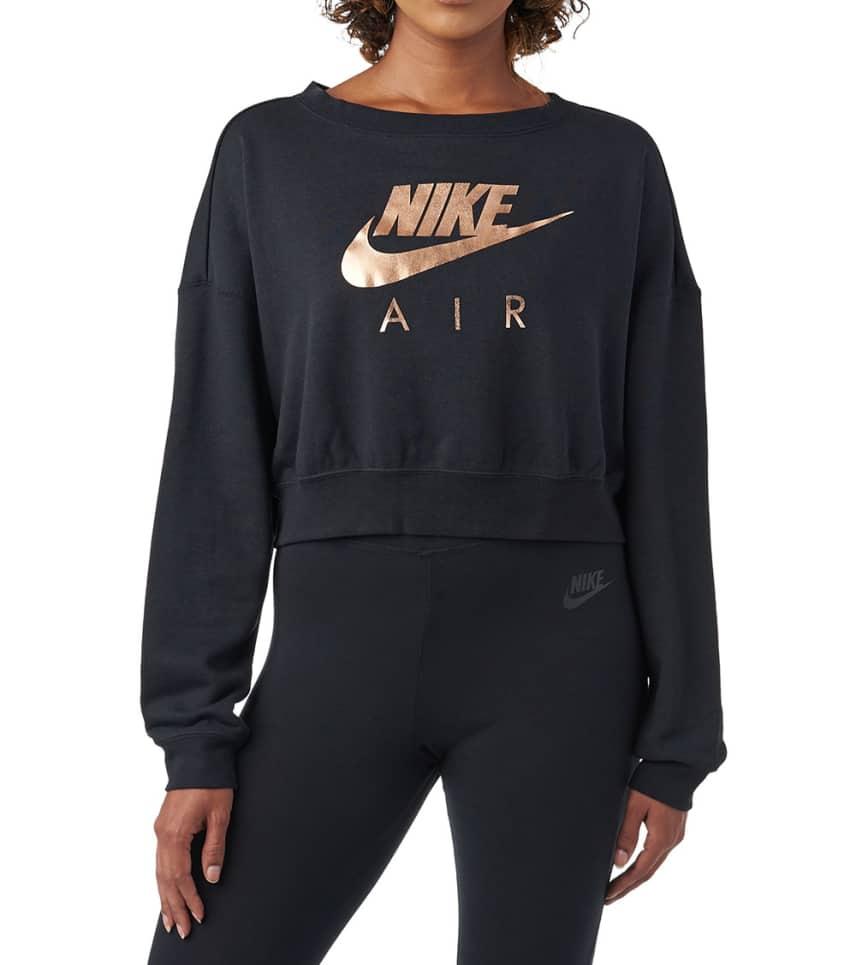 421f2ff63492 Nike W NSW RALLY CREW AIR (Black) - AV6227-010