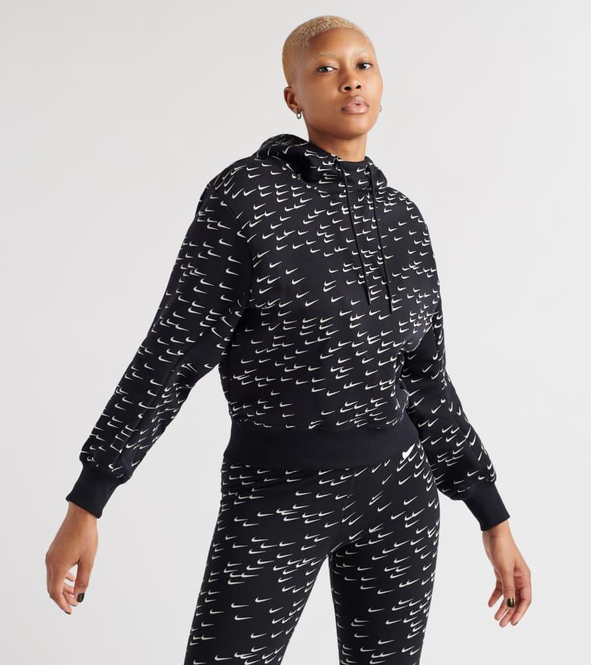 dfafb19c78a ... Nike - Sweatshirts - All-Over-Print Mini Swoosh Hoodie ...