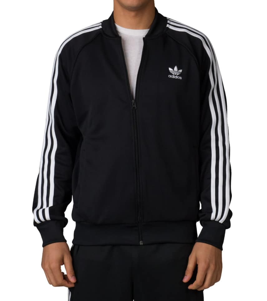 d90badf43fb7 Adidas SUPERSTAR TRACK JACKET (Black) - AY7059-001 | Jimmy Jazz