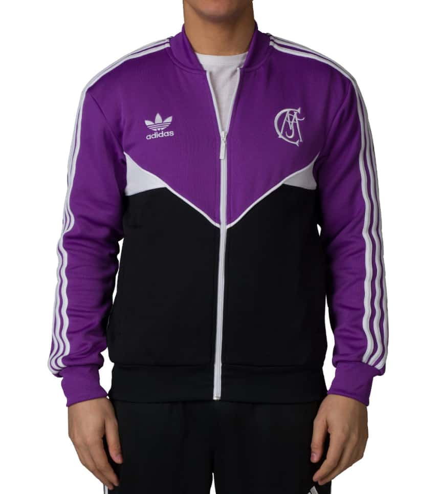 33250ccc7 adidas REAL MADRID TRACK JACKET (Purple) - AZ1229-500 | Jimmy Jazz