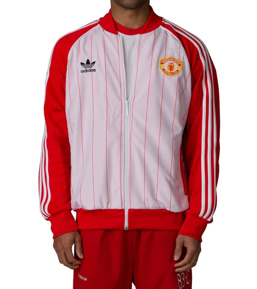 ca28549cb4b79 Adidas MANCHESTER UNITED FC TRACK JACKET (Red) - AZ1234-625 | Jimmy Jazz