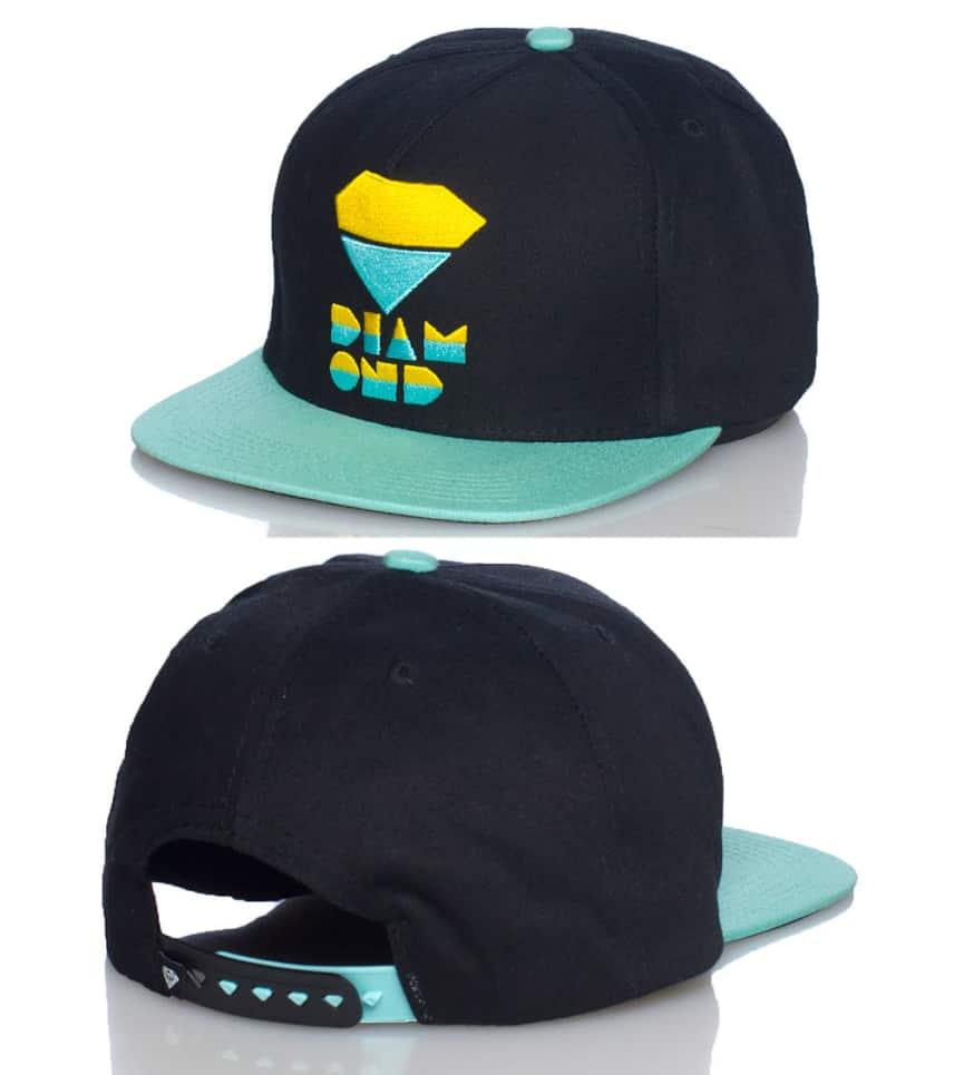 Diamond Supply Company Retro Snapback Cap (Black) - B13H112  fd505136dac
