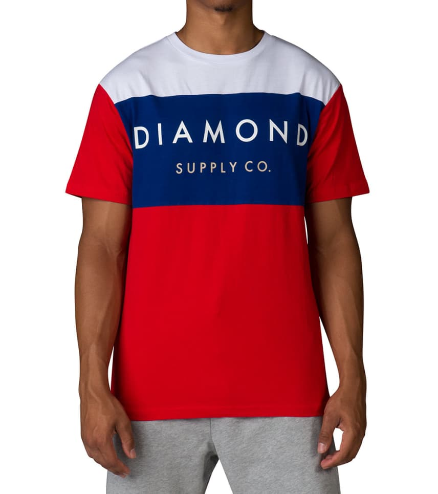 outlet store f8cd2 dbc89 Diamond Supply Company YACHT SS TEE COLORBLOCK