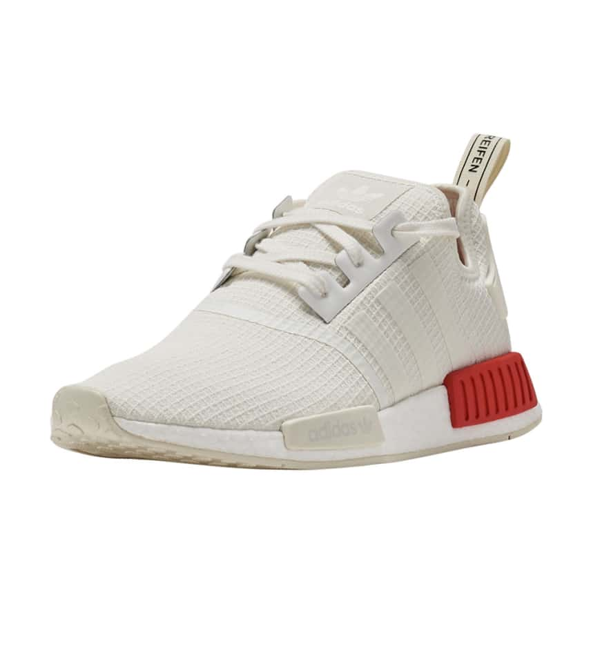 detailed look ecfab 078c6 Men s Shoes Adidas NMD R1   B37619 Off White Red Men SZ 7.5-13