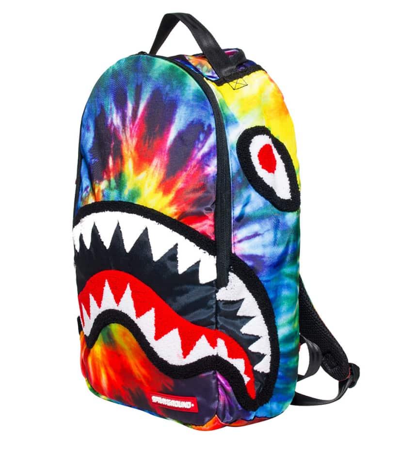 Sprayground Tye Dye Shark Backpack Multi Color B422 Jimmy Jazz 8f51ee6951c58