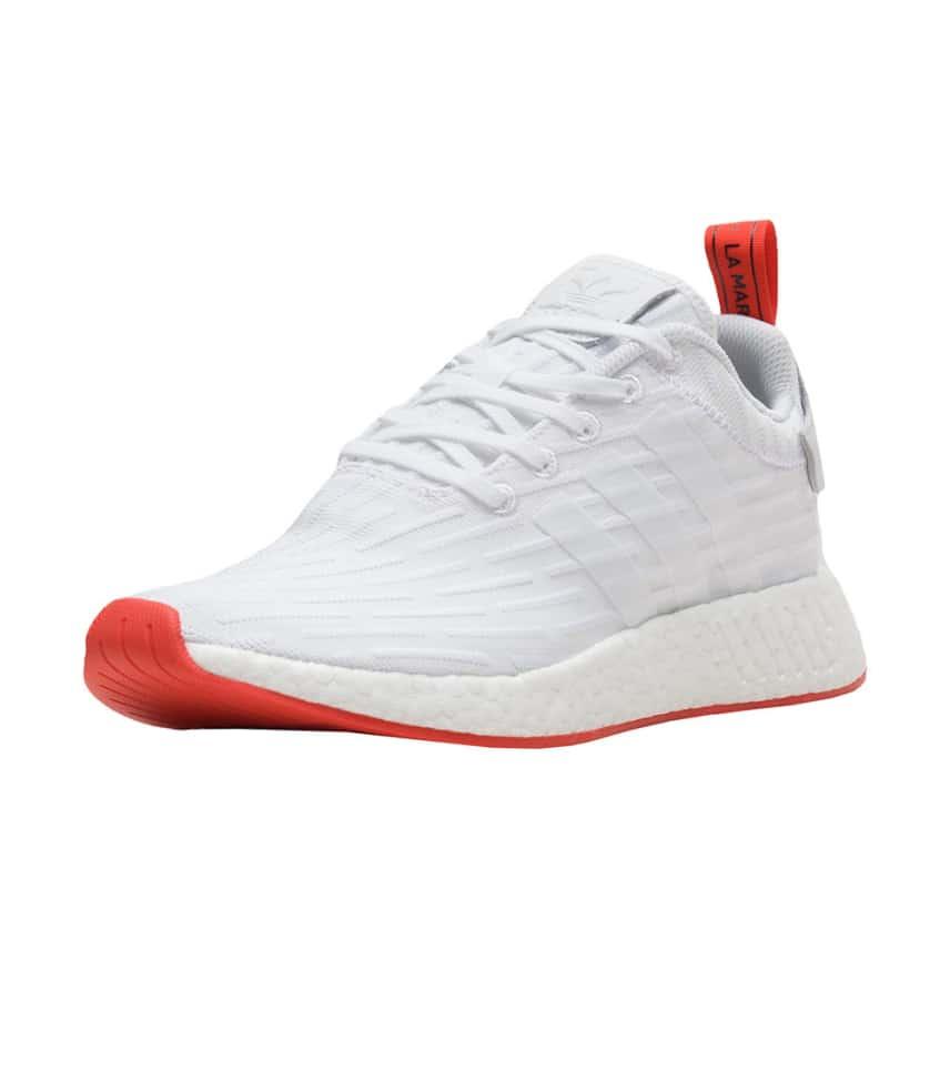 400817835 adidas NMD R2 PrimeKnit (White) - BA7253