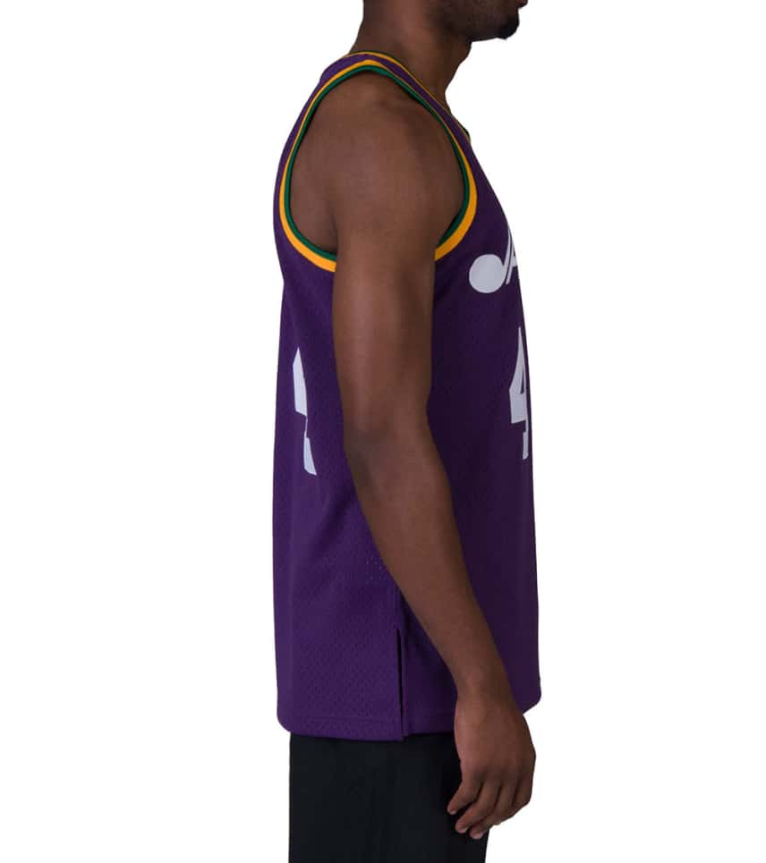 9872a9610 ... Mitchell and Ness - Tank Tops - Utah Jazz 1974-75 Maravich Jersey