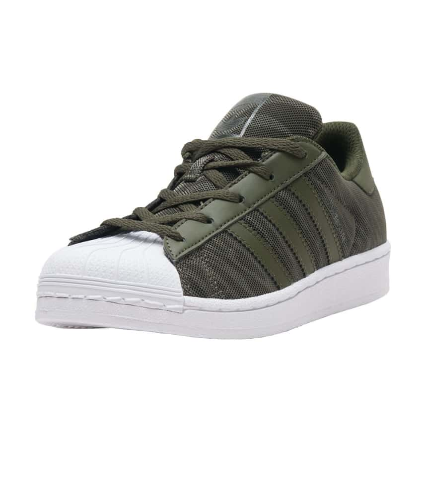 adidas Superstar Glitter Mesh (Dark Green) - BB0315  8c28b96884