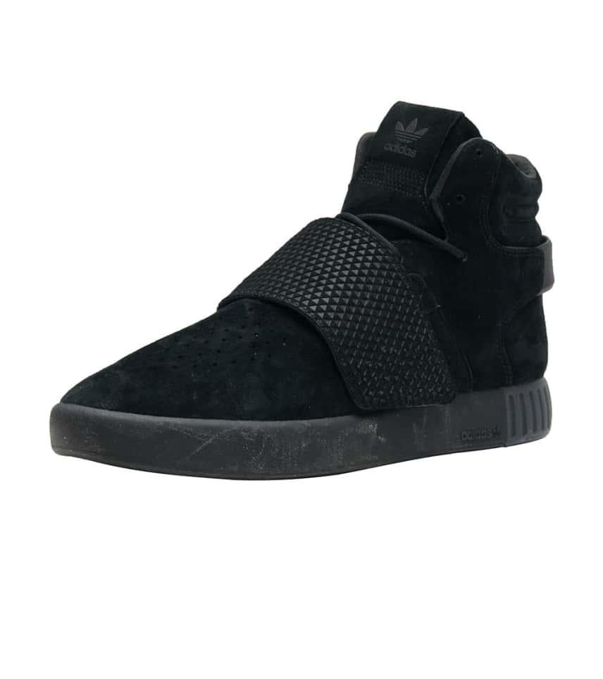 0dd57ff68ba9 adidas Tubular Invader Strap Sneaker (Black) - BB1169