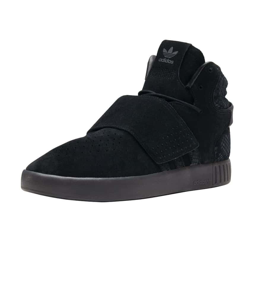 adidas Tubular Invader Strap (Black) - BB8