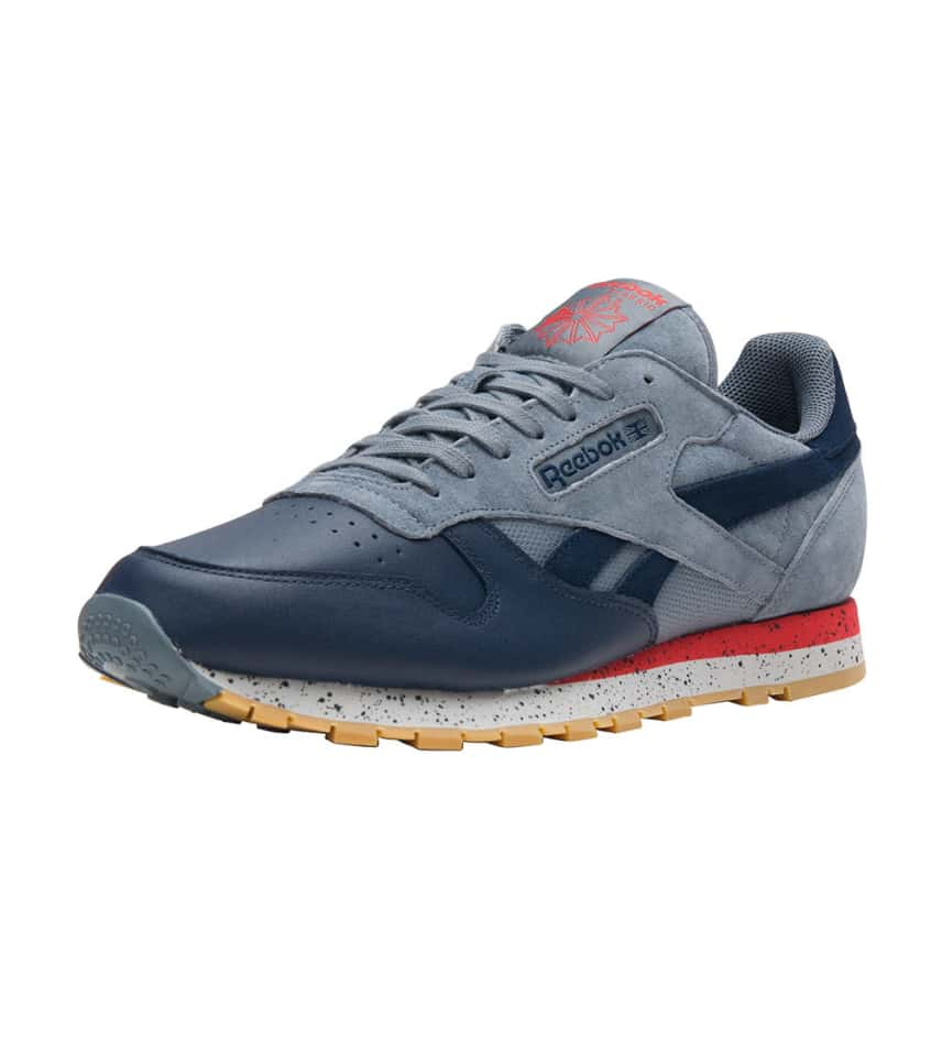 Reebok CLASSIC LEATHER SM (Medium Blue) - BD1928  f5cd8dc6c