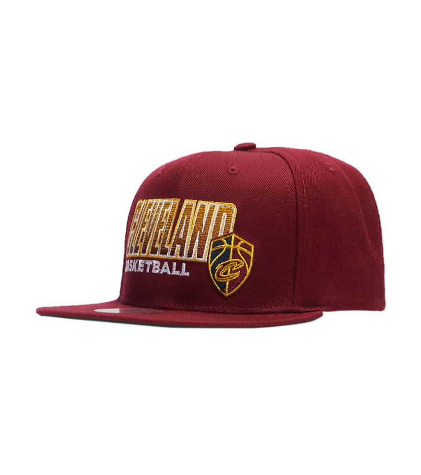 ac1fc640e56 Mitchell and NessCavs Score Keep Snapback Hat.  14.99orig  32.00. COLOR  Dark  Red