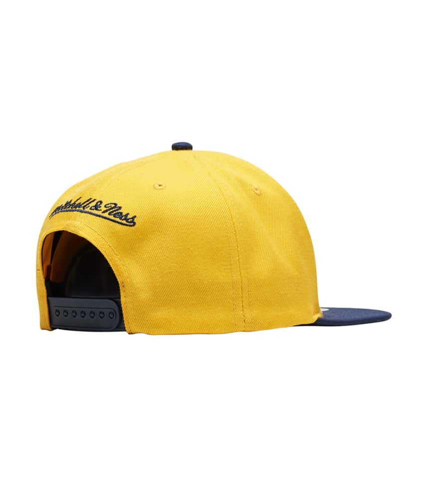 hot sale online 39dc8 fa08c ... Mitchell and Ness - Caps Snapback - Pacers Cropped Satin Snapback Hat  ...
