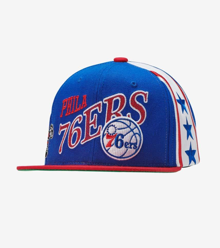 923f156ffae Mitchell and Ness Philadelphia 76ers Snapback (Royal) - BH78F9P76BIW ...