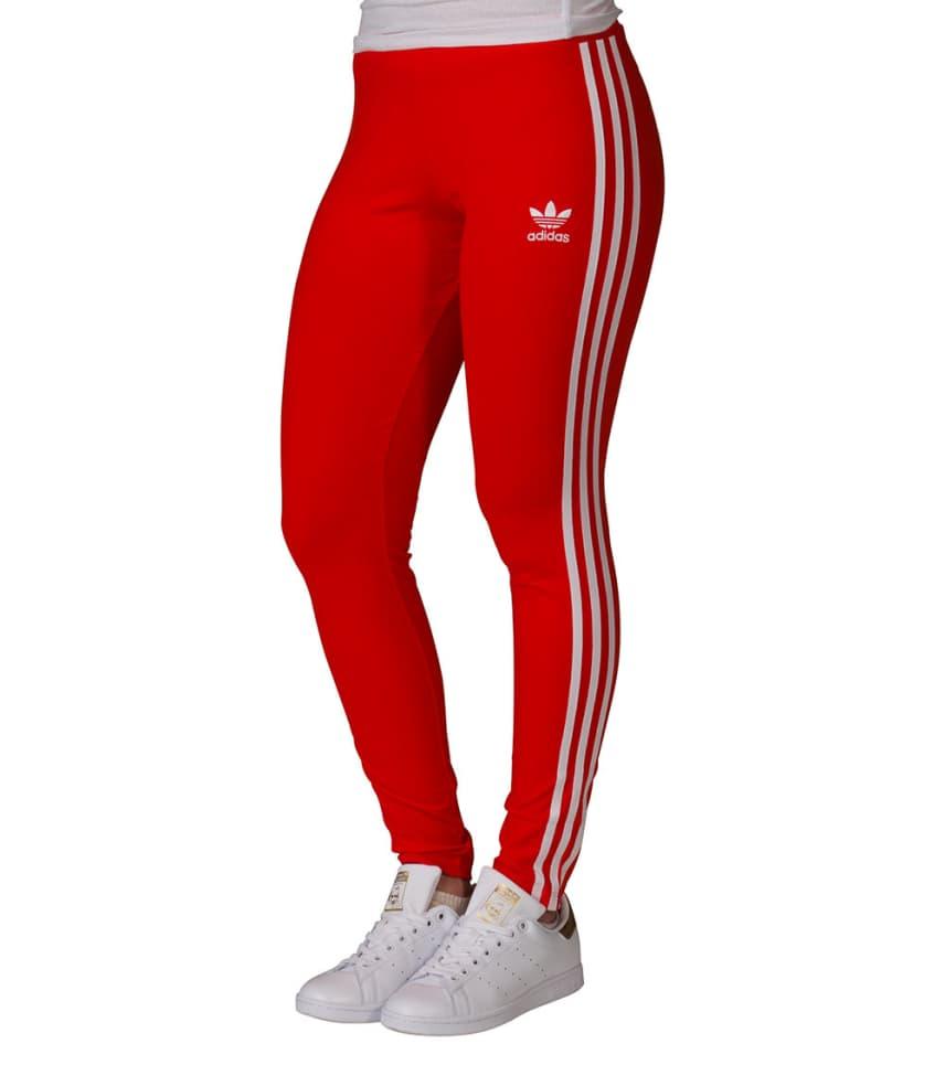 f6cb79619c785 adidas 3 Stripe Leggings London (Red) - BJ8362-618   Jimmy Jazz