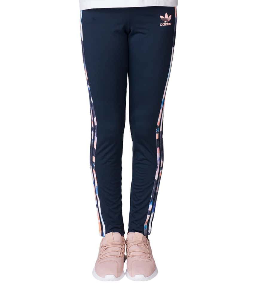 5f7b99947 adidas Girls 7-14 Trefoil Leggings (Navy) - BJ8554-401 | Jimmy Jazz