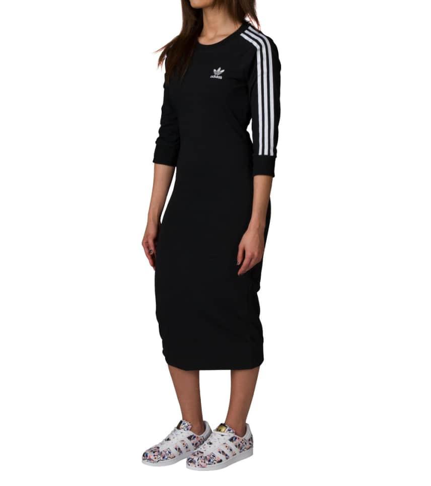 adidas adidas 3 Stripe Dress (Black) - BK0016-001  9568fddd5b62