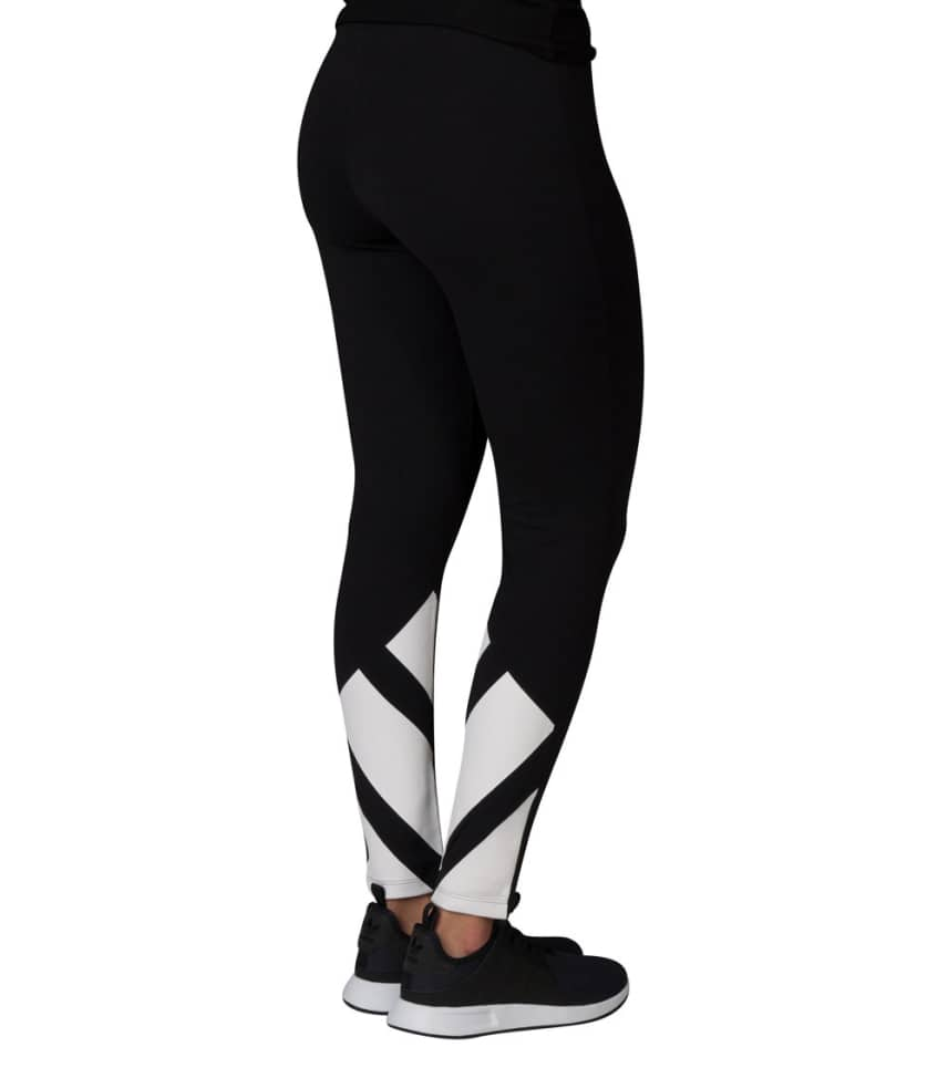 647009af1e04 adidas ADIDAS 3 STRIPE BOTTOM LEGGING (Black) - BK6182-001