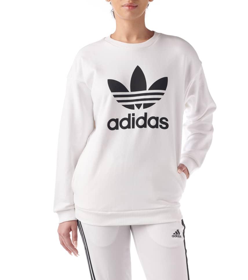 adidas Trefoil Sweat (White) - BP9498-100  03d01055728