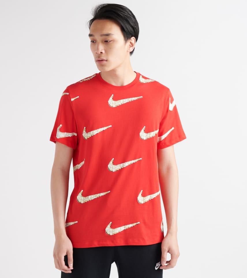 257d9cf50c70 Nike Bling Graphic Tee (Red) - BQ0633-657