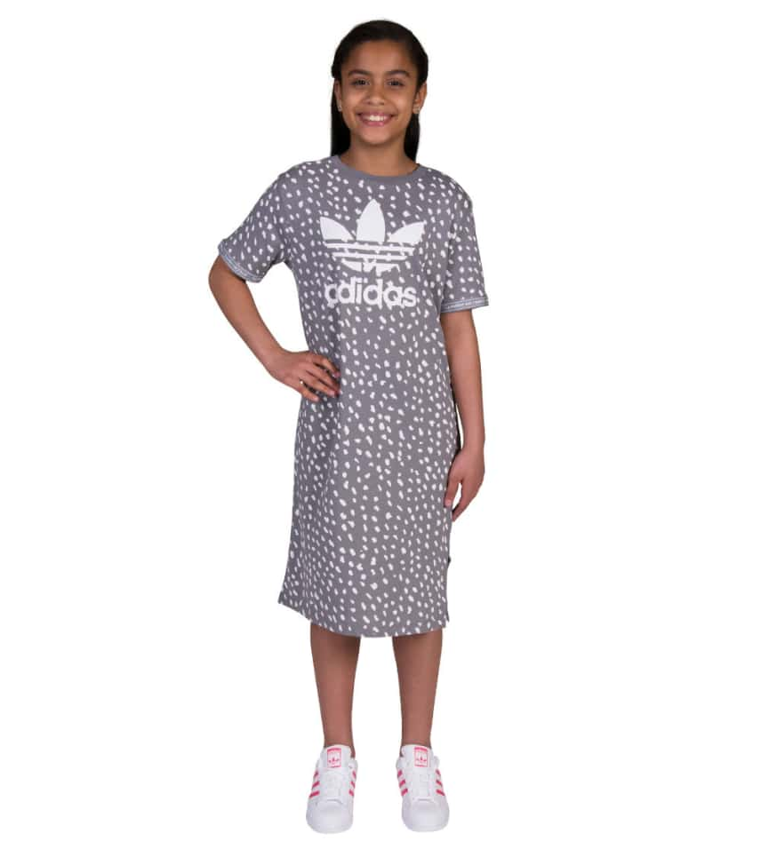 1650fcd398d adidas Girls 7-16 Junior NMD Tee Dress (Grey) - BQ4049-036 | Jimmy Jazz