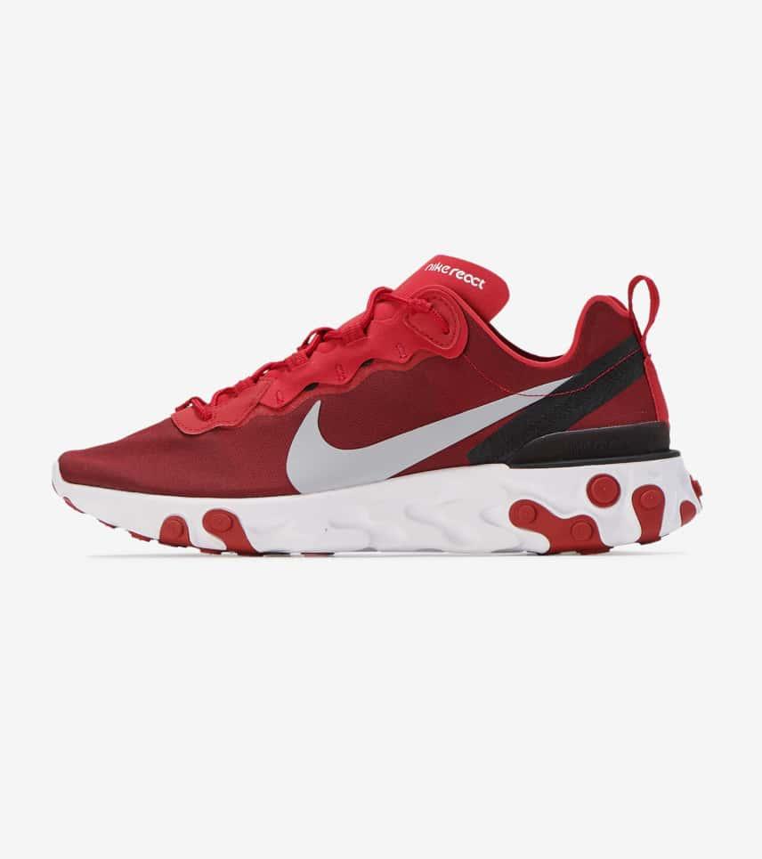 91c9317a82d7 Nike React Element 55 (Dark Red) - BQ6166-601