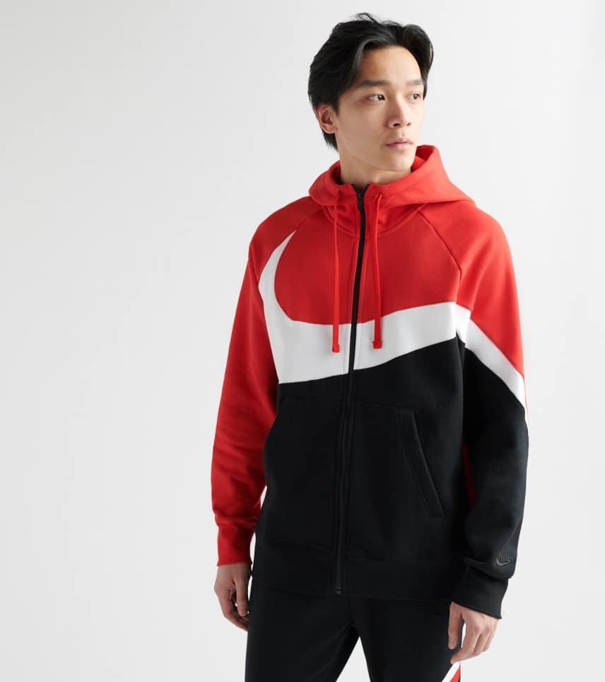 9921af19c Nike Swoosh Fleece Hoodie (Red) - BQ6458-657