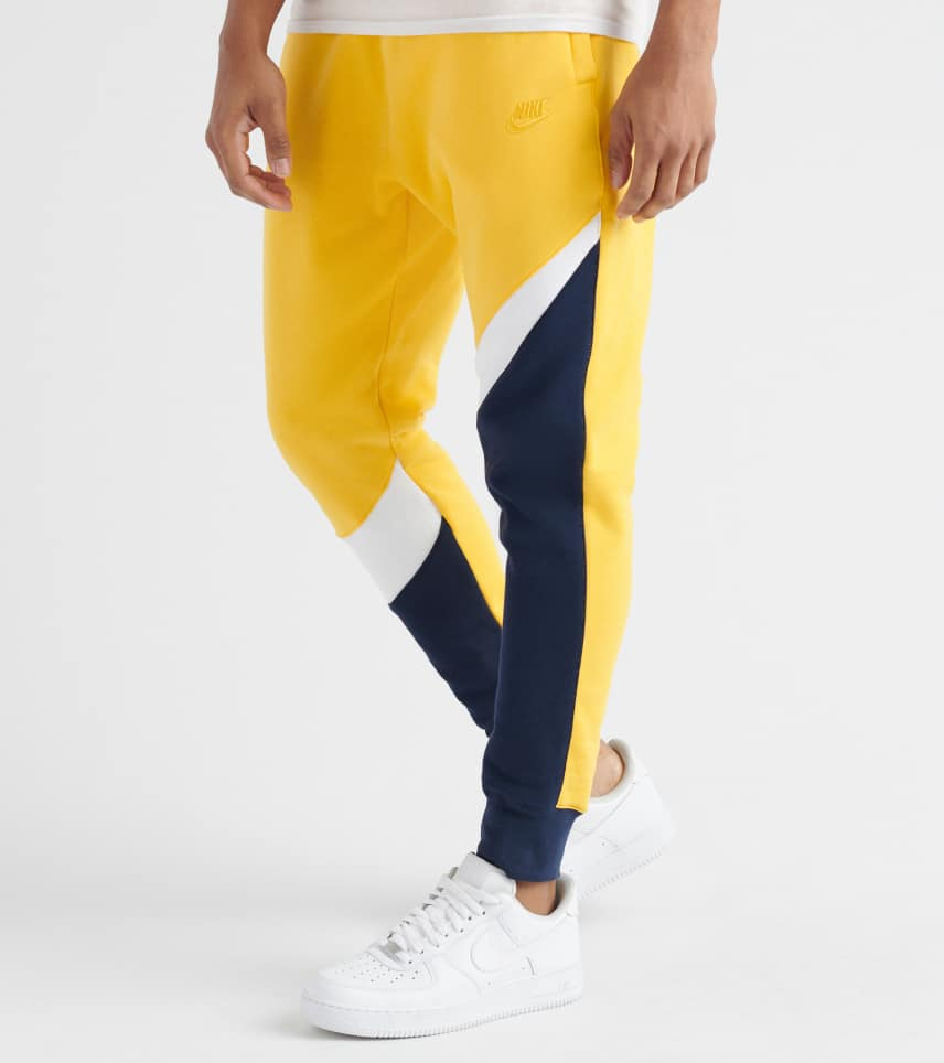a0ca2c277842 Nike Swoosh BB Fleece Pant (Yellow) - BQ6467-728