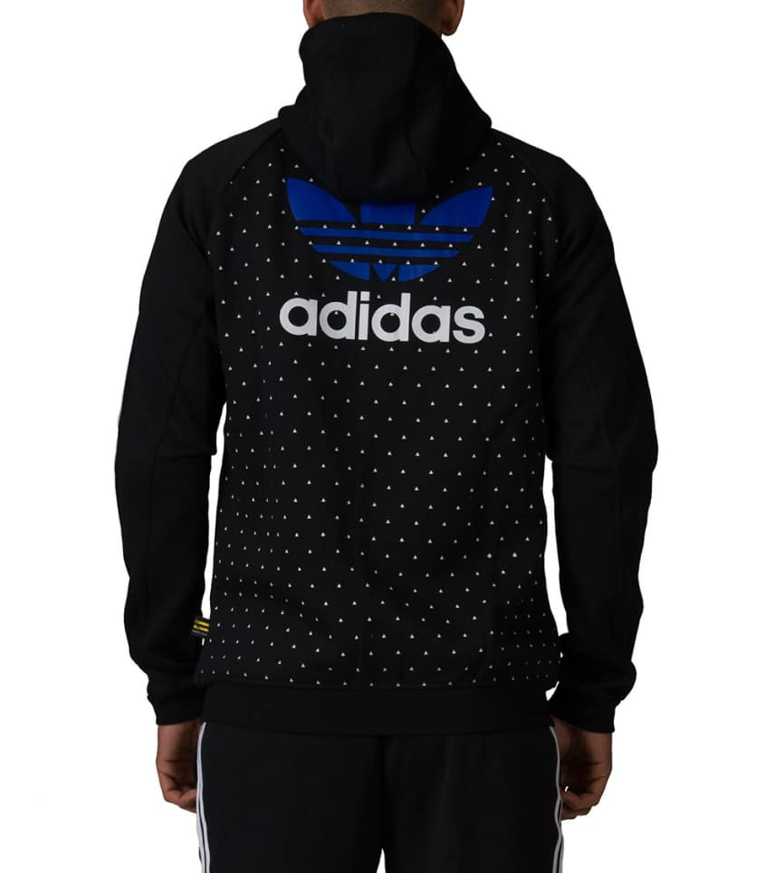 5357c7cc360f3 adidas Pharrell Williams HU Hoodie (Black) - BR1829-001