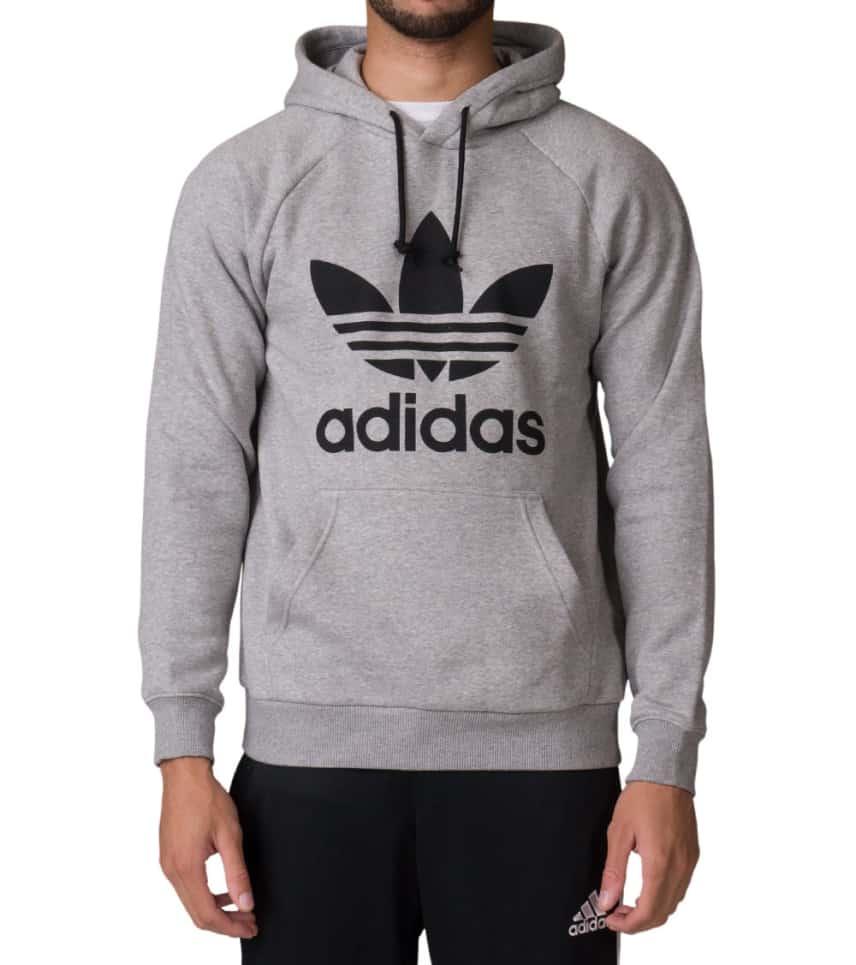 6690f85c Adidas Trefoil Hoodie (Grey) - BR4164-035 | Jimmy Jazz