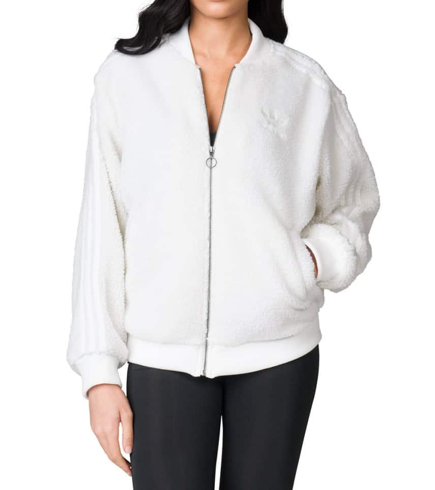 30b0b7318847 adidas Superstar Shearling Track Jacket (White) - BR5191-100
