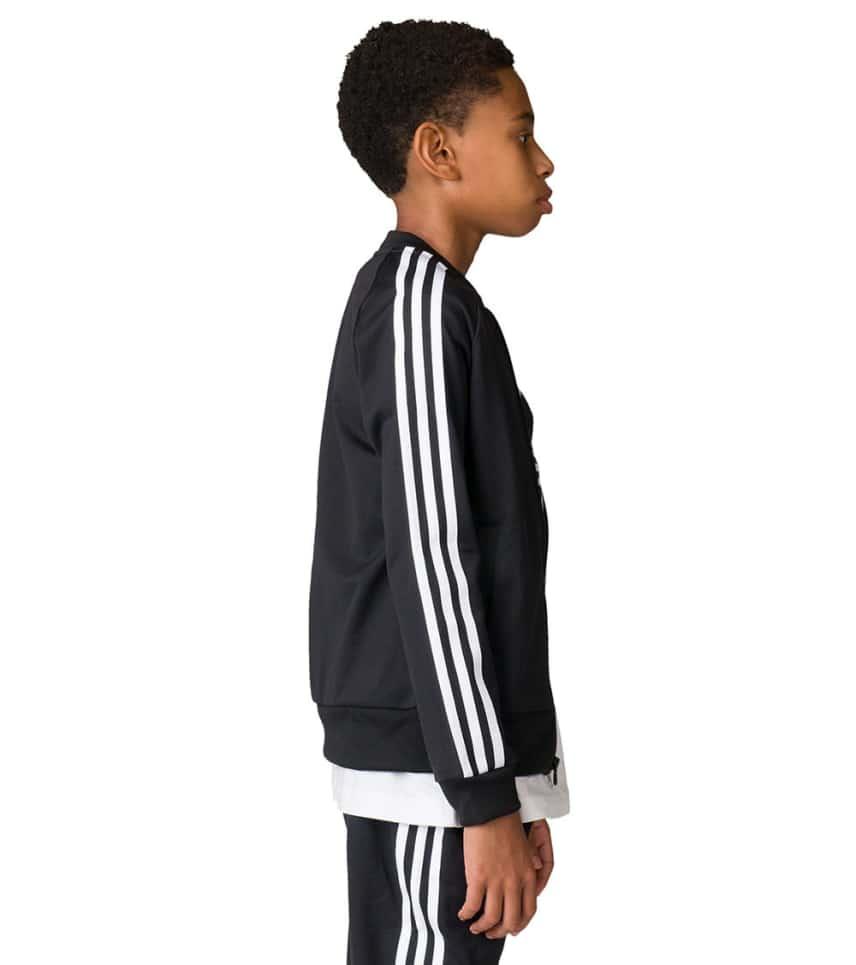 25118d49bd0b adidas Boys 8-20 Superstar Top (Black) - BR9170-001