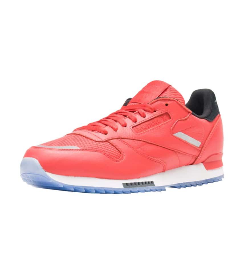 ac7256f1cebc17 Reebok Classic Leather Ripple Sneaker (Red) - BS5250