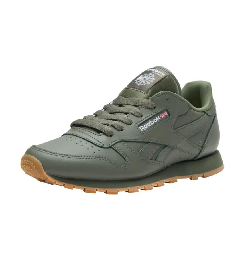 Reebok Cl Leather Gum (Medium Green) - BS5452  a0e287ba8b52