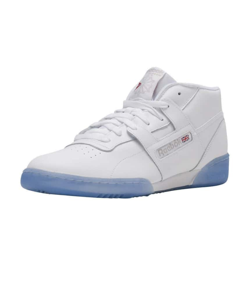newest 71c54 9d342 Reebok Workout Mid Clean BWI