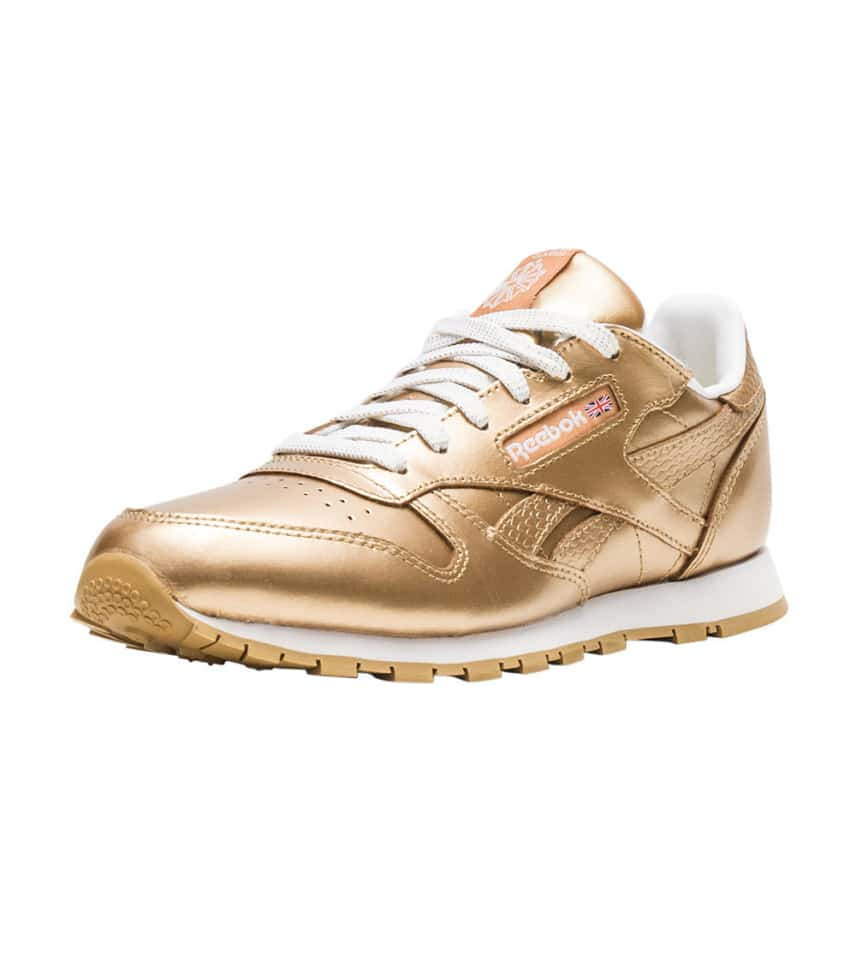 0b30a20c595 Reebok Classic Leather Metallic (Gold) - BS8944
