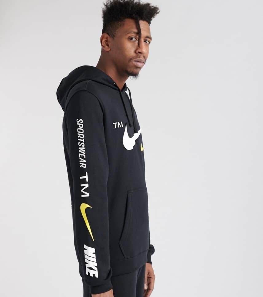 49baccd969601 Nike Microbrand Pullover Hoodie (Black) - BV3063-010