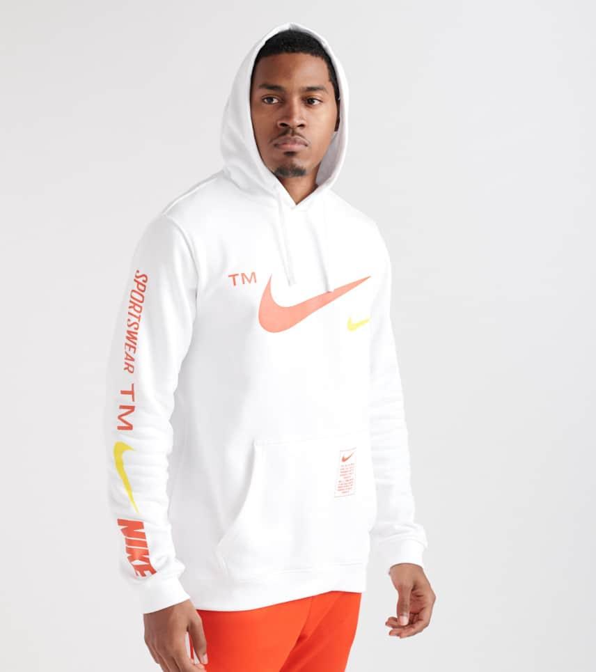 e80d6b86b0495 Nike Microbrand Pullover Hoodie (White) - BV3063-100