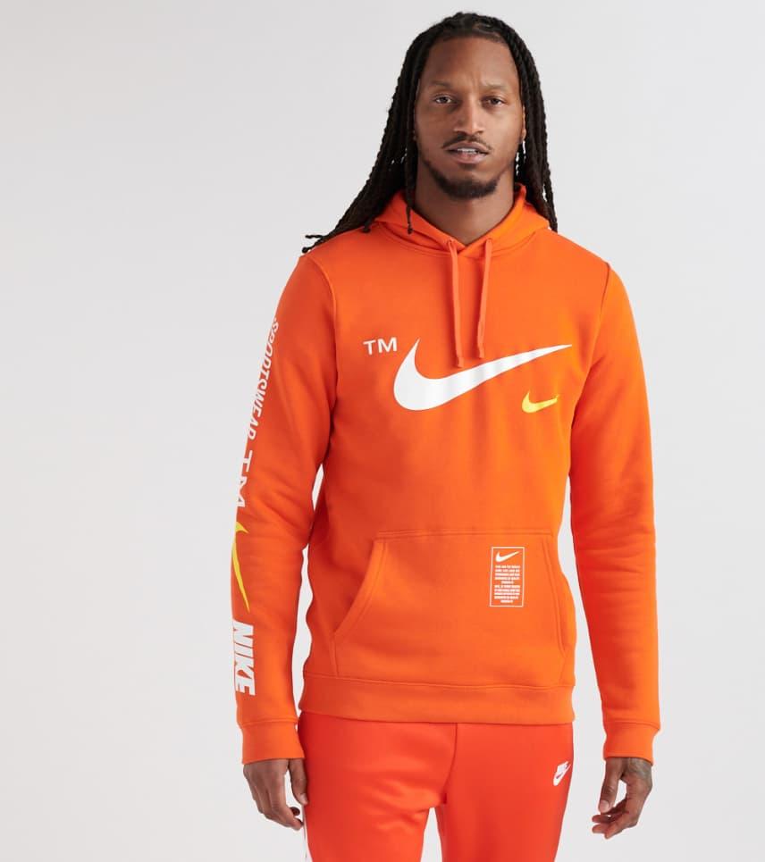 f907c945d3881 Nike Microbrand Pullover Hoodie (Orange) - BV3063-891