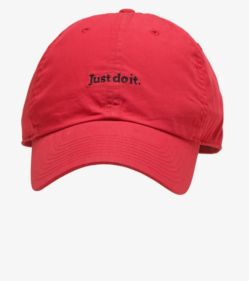 157d684ed4d Nike H86 Just Do It Cap (Red) - BV3376-657