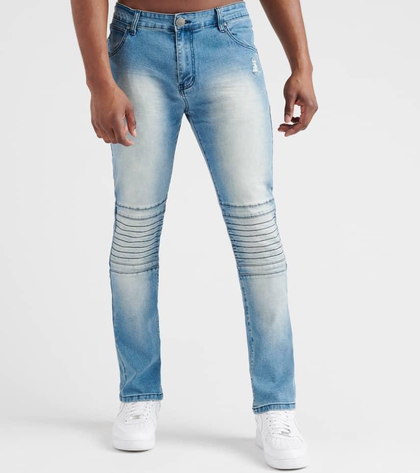 fc6d66a2014c Caliber Cig 2 Jeans (Blue) - C12273-LST