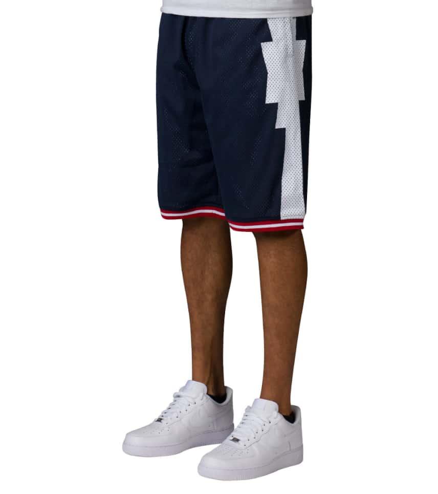 48822117 ... Crooks and Castles - Athletic Shorts - TRIBAL BASKETBALL SHORTS