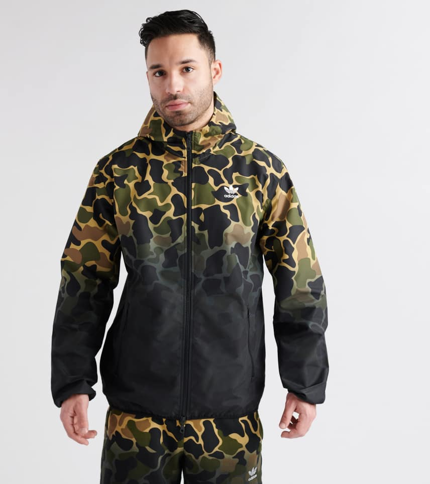 9073d8723f764 adidas Camo Windbreaker Jacket (Multi-color) - CE1545-997 | Jimmy Jazz