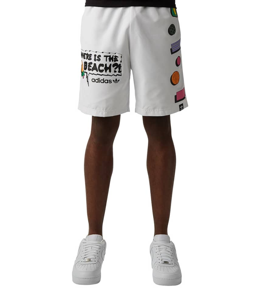 85eeff3de1 Adidas CM Beach Swim Shorts (White) - CE2266-100 | Jimmy Jazz