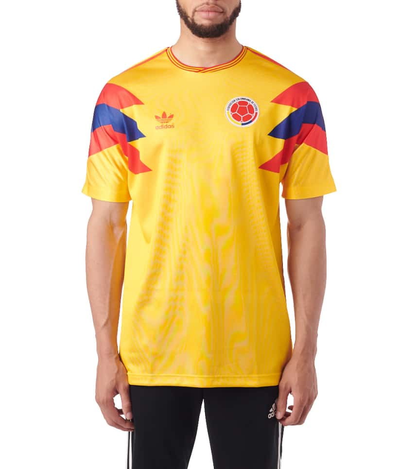 8459adff9 adidas Colombia SS Jersey (Yellow) - CE2338-733