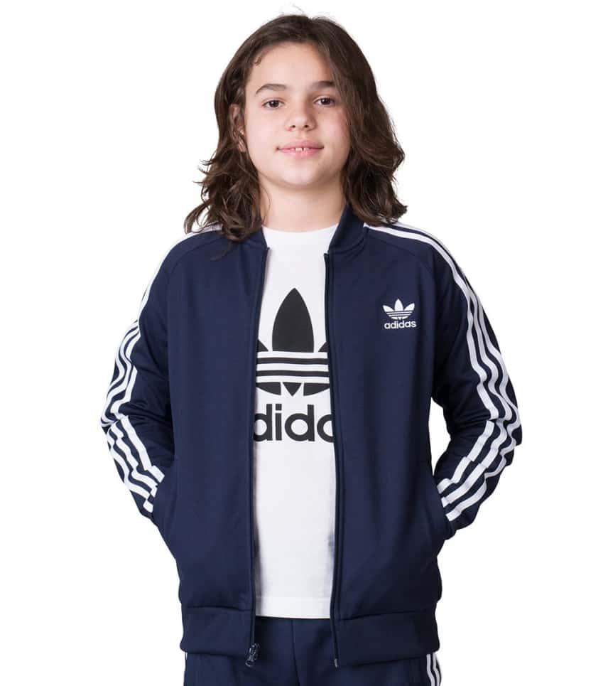 d95234e6c2a5 adidas Boys 8-20 J Superstar Track Jacket (Navy) - CF9760-408 ...