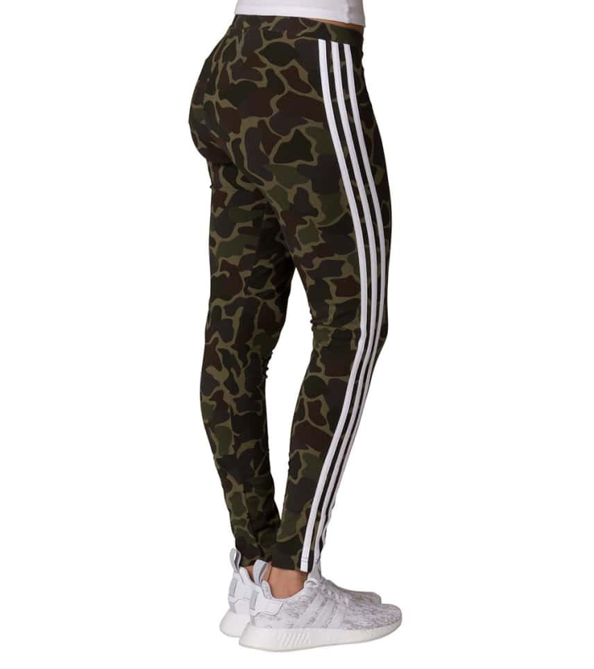 4af9d7b2e1c9b adidas Camo 3 Stripe Legging (Dark Green) - CG1179-307 | Jimmy Jazz