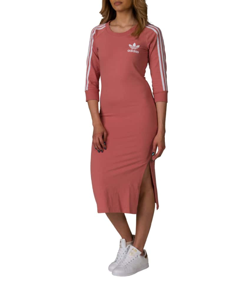 bce5702cf4 adidas 3 Stripes Dress (Medium Pink) - CG1235-651